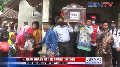 Jenazah Korban Pesawat Sriwijaya Air SJ-182 Tiba di Rumah Duka
