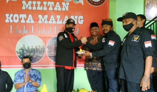 Kader MILITAN Siap Bersinergi Dengan DPC PDI Perjuangan Kota Malang