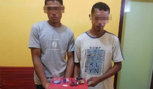Cari Pembakar Motor, Polisi di Aceh Utara Malah Temukan Dua Penggu Sabuna