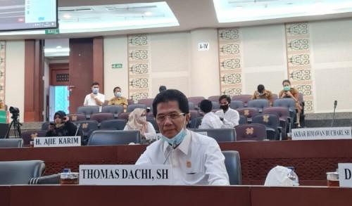 KPK ke Sumut, Thomas Dachi : KPK Jangan Tebang Pilih Dalam Penegakan Hukum