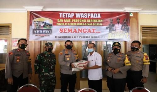 Jaga Mojokerto, Kapolres Hidupkan Terus Kampung Tangguh Semeru Di Kabupaten Mojokerto