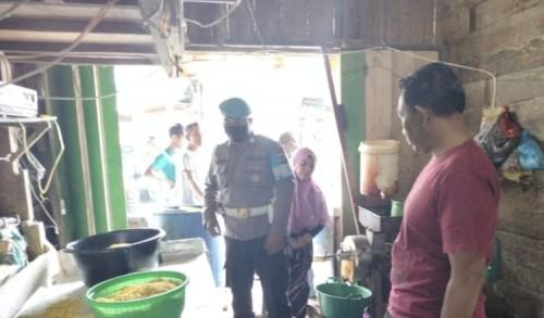 Kedai Pengolahan Mie di Pasar Samakurok Aceh Utara Nyaris Terbakar
