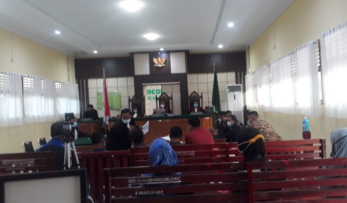Polemik Pilkada Inhu Riau, 6 Terdakwa Bacakan Pledoi, Rajiskhan: Bawaslu Tak Profesional