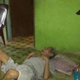 Terharu, Suami Istri Tunanetra Disantuni Kapolsek Medan Sunggal