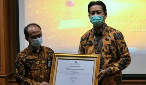BKKBN Jatim Sabet Penghargaan Terbaik Indikator Kinerja Pelaksanaan Anggaran