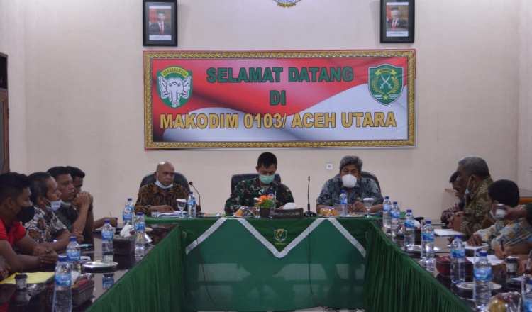 Dandim Aceh Utara Minta Sengketa Tanah Waduk Krueng Kreuto Segera Diselesaikan