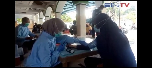 Pokmas Aura Pelangi Adakan Donor Darah di Tengah Pandemi