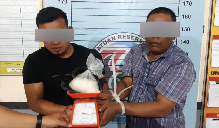 Polres Aceh Utara Gagalkan Transaksi Setengah Kilogram Sabu