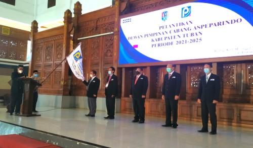 Resmi Dilantik, DPC Aspeparindo di Tuban Sebagai Wadah Bagi Pengelola Parkir