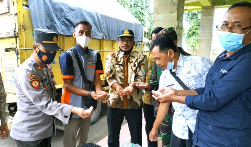 Droping Beras BPNT Kecamatan Grabagan Terpantau Baik dan Layak Konsumsi
