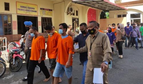 Pencuri 65 Mayam Emas Milik Warga Kutablang Lhokseumawe Ditangkap Polisi