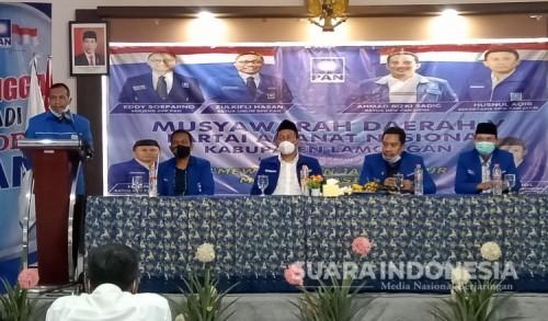 Ali Mahfudl Pimpin DPD PAN Lamongan