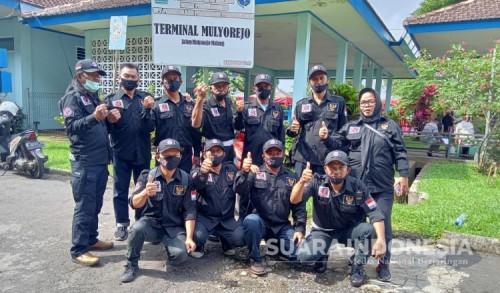 Tekan Angka Covid-19, Kader Militan Kota Malang Bagikan 1000 Masker Gratis