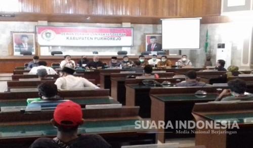Merasa Tak Aman, Warga Desa Wadas Pro Tambang Quarry Ngadu ke DPRD Purworejo