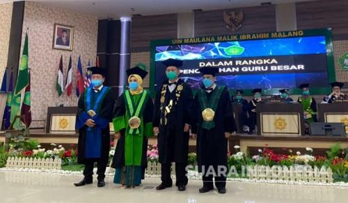 Program Akselerasi Profesor, UIN Malang Kembali Kukuhkan 3 Guru Besar
