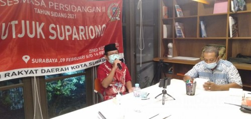 Reses Terakhir, Legislator Fraksi PSI Surabaya Dapat Keluhan soal BST