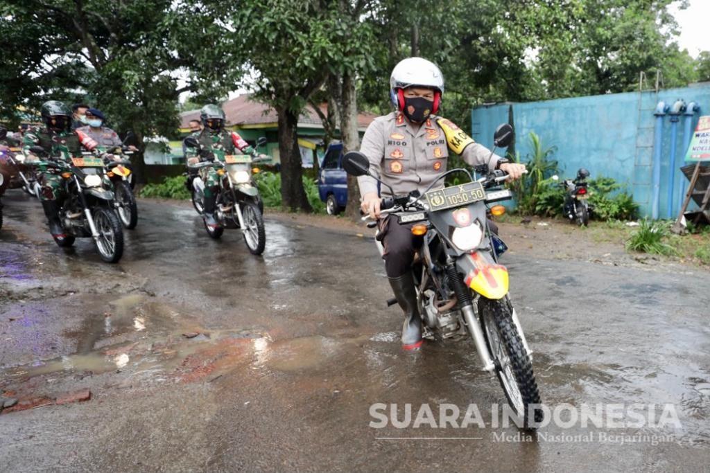 Cek Lokasi Longsor Terpencil, Pangdam V Brawijaya dan Kapolda Jatim  Ngetrail