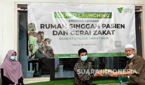 Pertama di Kota Malang, Dompet Dhufa Launching Rumah Singgah Pasien