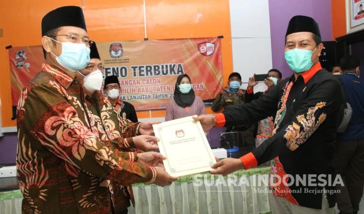 KPU Tetapkan, Yuhronur Efendi - Abdul Rouf Jadi Bupati dan Wakil Bupati Lamongan
