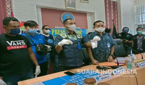 125 Paket Shabu Jaringan Lapas Disita BNN, Kurirnya Honorer di Kantor BPBD Ternate