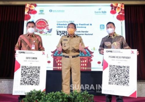Mudahkan Transaksi Cibadak Culinary Night, Pemkot Bandung Hadirkan BJB DigiCash