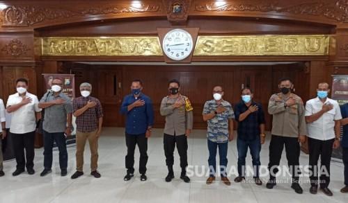 Gandeng PWI, Kapolda Jatim Perangi Berita Hoaks di Wilayah Jatim