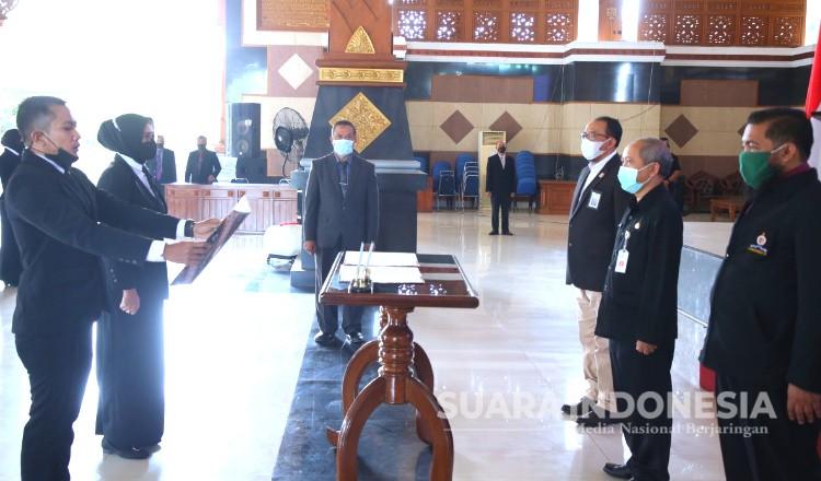 30 Pejabat Eselon 4 di Tuban Dilatih Kepemimpinan Yang Pancasilais
