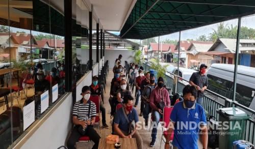 Usai Cuti Puluhan Karyawan di PT NHMWajib Swab Covid-19 dan Jalani Karantina Mandiri