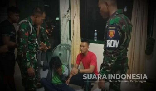 Nekad Ugal-ugalan di Depan Markas TNI, Pemuda Jember Diamankan