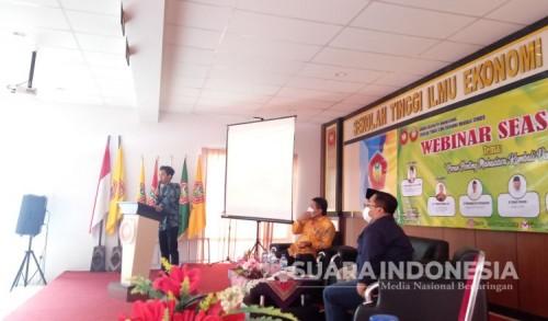 STIE Mandala Jember Gelar Webinar Optimalkan Peran Mahasiswa untuk Pembangunan Desa