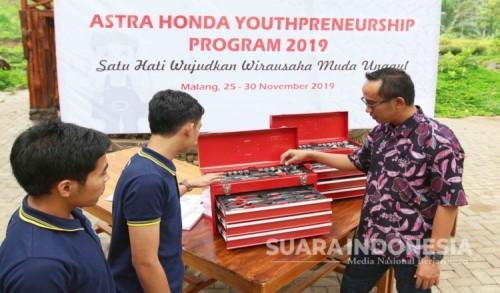Berkat MPM, Alumni SMK TBSM Honda Ini Kini Sukses Jadi Pengusaha Bengkel