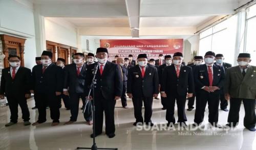 Besama Bangun Mojokerto, DPC PAPDESI 2021-2026 Resmi Dilantik
