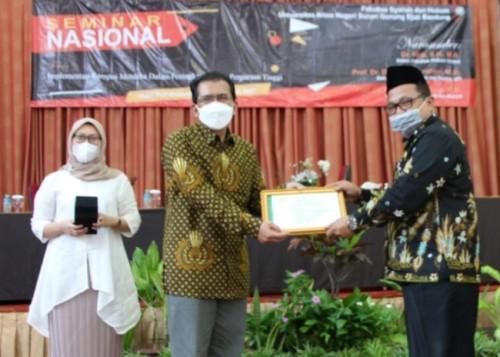 Tingkatkan Mutu Perguruan Tinggi, FSH UIN SGD Bandung Gelar Seminar Nasional