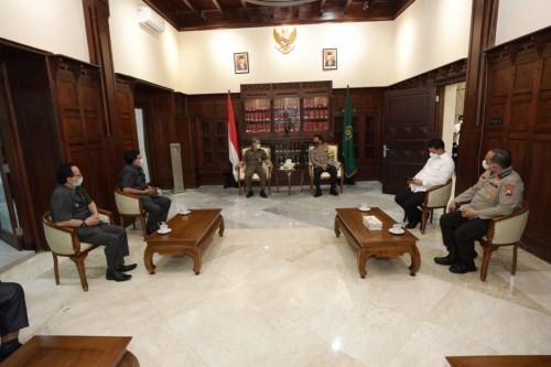 Kapolda Jatim dan Ketua Pengadilan Tinggi Surabaya Kolaborasi Sistem Peradilan Pidana dan Tindak Lanjut Satgas Mafia Tanah