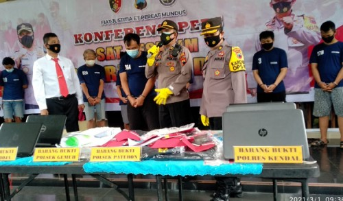 Disersi TNI Diamankan Polres Kendal Karena Terbukti Mencuri di Alfamaret