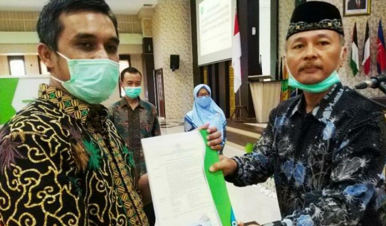 Pimpin Pengambilan Sumpah Pegawai, Berikut Pesan Rektor UIN Malang