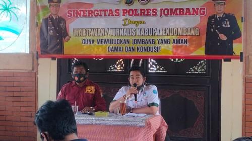 Polres Jombang Gelar Silaturahmi dan Sinergitas Dengan Insan Pers