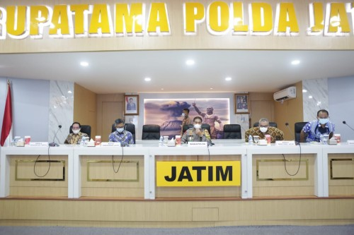Wakapolda Jatim Bangga 10 Satker Canangkan Integritas WBK dan WBBM