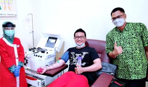 Ini Cerita Fahmi Fikroni Soal Pengalamanya Donor Plasma Konvaselen