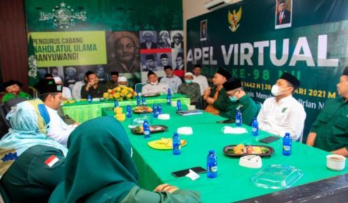 Perkuat Konsolidasi, PKB Jalin Silaturahmi dengan PCNU Banyuwangi