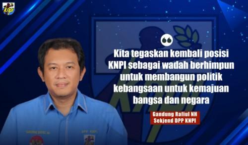 Pasca Polemik, Ketua KNPI Haris Pertama Tunjuk Gandung Rafiul Jadi Sekjend Baru