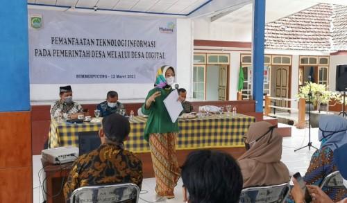Anggota DPRD Kabupaten Malang Dorong Terwujudnya Desa Digital
