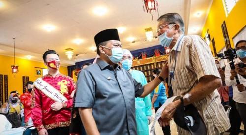 Komunitas Masyarakat Peduli Tionghoa,  RS Kebonjati Dan Pemkot Bandung Kolaborasi Masifkan Vasinasi  Covid-19
