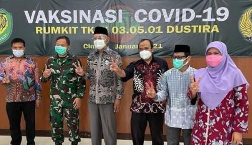 Komisi V DPRD Jawa Barat Tinjau Vaksinasi Covid-19 Di Rs Yudisthira