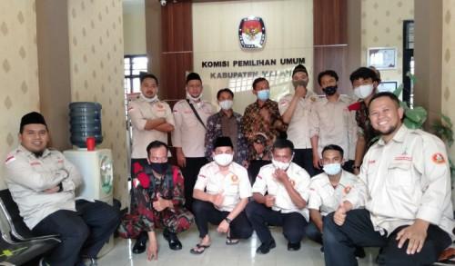 Usai Dilantik, PDPM Kabupaten Malang Sambangi KPU