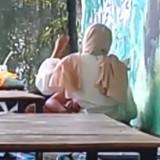 Kondisi Sepi, Dua Sejoli Terekam Kamera Beradegan Mesum di Cafe Tuban