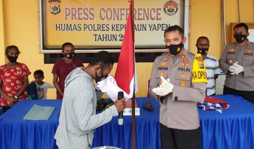 Didampingi Keluarga, Komandan KKB di Yapen Kembali ke NKRI