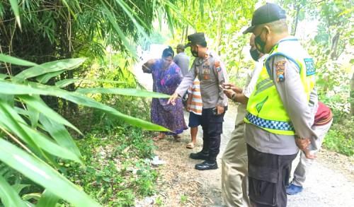 Geger, Bayi Baru Lahir Ditemukan Warga Tuban Dibawah Pohon Bambu Tepi Jalan