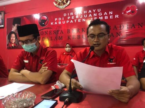 PDIP Tegaskan Tak Akan Ikut Pembahasan KUA - PPAS APBD Jember 2021