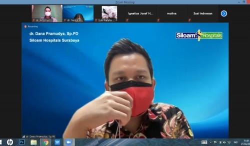 Peringati Hari Ginjal Sedunia, Siloam Hospital Surabaya Gelar Gathering Virtual